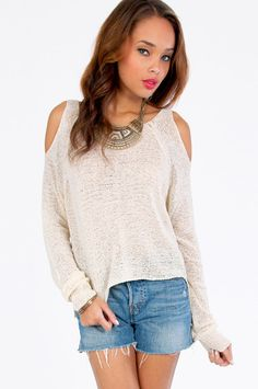Shoulder The Way Out Sweater