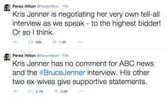 Kris Jenner Fires Back After Perez Hilton Calls Her Out on Twitter | Cambio