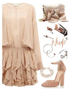 """""""Untitled #648"""" by elma-alibasic ❤ liked on Polyvore featuring Faith Connexion, Oscar de la Renta, Gianvito Rossi and Charming Life"""