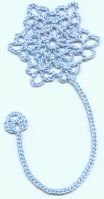 Now that you are crocheting again, you can crochet a bookmark for me! Doesn't have to be a snowflake.