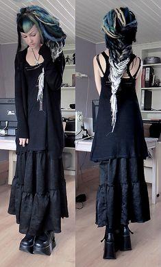 Goth girl psychara