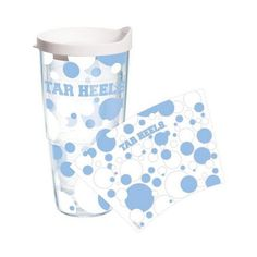 UNC Tervis Tumbler 24 oz. Dot Wrap  Conference apparel | FREE Priority Mail Shipping | College Sports Apparel |