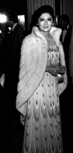 the lavish, imelda marcos Ferdinand, People Power Revolution, President Of The Philippines, She Is Gorgeous, Beautiful, The Wedding Singer, Filipiniana, Liza Soberano, European American