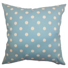 Polka Dot Pillow.