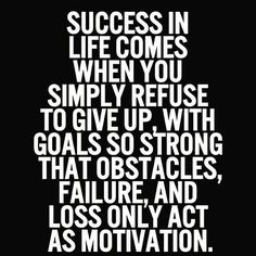 Use any failures or road blocks as a reason to motivate you to succeed. Don't let anything stop you if you want it bad enough. #cresultsfitness #goals #motivation #life #dedication #success #fitfam #fitness #power #fitspiration #fitspo #igfitness #mealprep #eatclean #cardio #hustle #gains #haters #thestruggleisreal #workout #workflow #personaltrainer