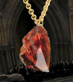 Harry Potter Sorcerer's Stone Necklace New with Box