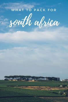 A breakdown of what to pack for a summer trip to South Africa for those who want to remain stylish. via @thshegoesagain