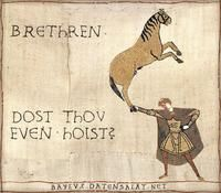 Medieval Macros / Bayeux Tapestry Parodies - Bro Do you even lift?