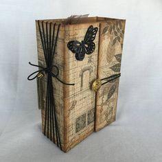 vintage midori style journal