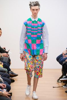 Comme des Garçons Shirt Spring 2015 Menswear Collection Slideshow on Style.com
