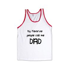 My Favorite People Call Me Dad Dads Father Fathers Grandparents Grandfather Children Parent Parents Parenting SGAL8 Men's Tank