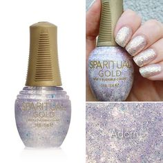 Happy #ManiMonday! Today's mani is courtesy of @Mademoiselleeem and features the #GOLDFlexibleColor, Adorn.