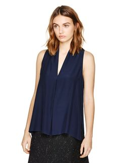 WILFRED NUIT BLOUSE - A gorgeous silk top that does simplicity justice