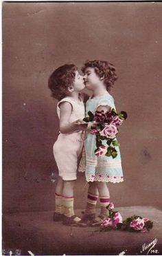 Vintage Postcard ~ This Kiss | Flickr - Photo Sharing!