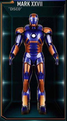 """Mark XXVII (""""Disco"""")  From 'Iron Man 3' (2013)"""