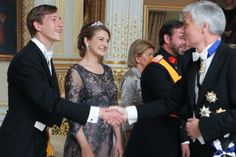 24 JUNE 2014  National Day in Luxembourg Yesterday:Members of the Grand Ducal Family of Luxembourg attended Luxembourg National Day celebrations.