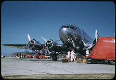 TWA Stratoliner Chgo Airport. | Flickr - Photo Sharing!