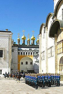 Terem Palace, Moscow, Russia | The Terem Palace in Moscow Kremlin