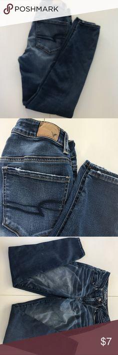 American Eagle Jeans Size 2 American Eagle Jeans Size 2 Hi-rise jeans  Skinny American Eagle Outfitters Jeans Skinny