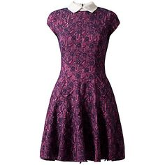 £31 Buy Almari Jacquard Collar Dress, Multi Online at johnlewis.com