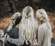 "1,515 Likes, 35 Comments - ↟↟ anna lyn cook ↟↟ (@annalyncook) on Instagram: ""Dutch fishtail > twist > classic French braid ❤️ @meganebryce @emeraldbryce"""