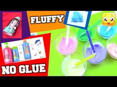 Diy how to make slime with hand soap slime without glueborax how to make fluffy slime without glue borax liquid starch detergent eye ccuart Image collections