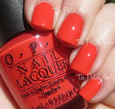 OPI Spring 2015 Hawaii Collection - Aloha From OPI