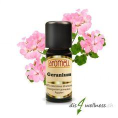 Aromell Ätherisches Geraniumöl ml) naturrein Perfume Bottles, Beauty, Geraniums, Tutorials, Beauty Illustration
