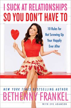 "My new book, ""I Suck At Relationships So You Don't Have To,"" will hit shelves April 7 and I'm visiting cities around the U.S. to celebrate! #ISuckAtRelationships"