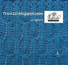 Tricô 10 - Knit & Purl: TRICOCIONÁRIO – AJ-0008