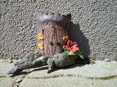Fairy door 3-d Polymer Clay, Fairy, Elves, Modeling Dough, Angel