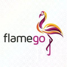 Flamego - Flamingo logo