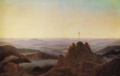 Caspar David Friedrich   Morgen am Riesengebirge