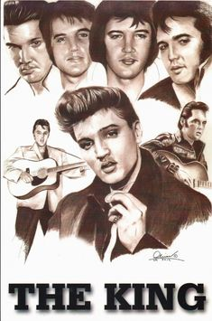 hand drawn Elvis Presley by Bill Olivas 1990 Movies, Latino Art, Thing 1, Stevie Ray, Amy Winehouse, Newport Beach, Is 11, Elvis Presley, San Antonio