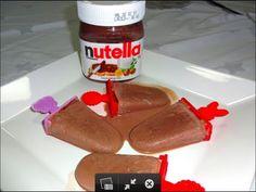 Brincando de Ana Maria: Picolé de Nutella. Sorvete de nutella. Sorvete caseiro. Sorvete fácil