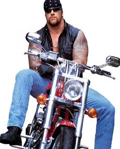 The Undertaker Motorcycle WWE Vest