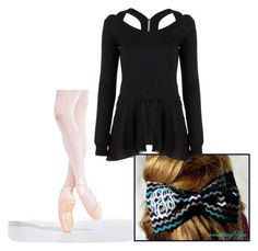 """ballet lesson k"" by ayusmilee on Polyvore featuring Capezio and Pepper & Mayne"