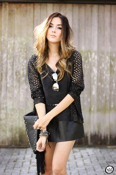 FashionCoolture - 28.06.2015 look du  jour Shoulder all black boho outfit (3)