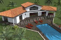 En panne d'idées ? ForumConstruire.com vous propose 391 plans de maison à télécharger ! Contemporary House Plans, Home Projects, Planer, Tiny House, Beach House, Farmhouse, Construction, House Design, How To Plan
