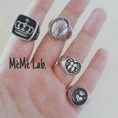 E tu di che anello sei? Adoro la nuova collezione anelli www.memelabaccessori.com