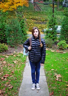Bianca going to school #4