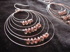 Handmade Earrings by Monica Hoblin