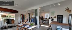360 Tour of Almond Surfboards & Designs | Retail Store