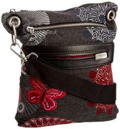 Vintage bag female desigual bag fashion embroidered butterfly canvas bag messenger bag $24.80