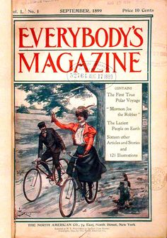 Everybody's Magazine, first issue, September 1899.