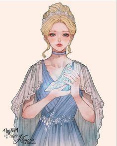Disney Princess Art, Anime Princess, Disney Fan Art, Cinderella Art, Character Inspiration, Character Art, Character Design, Disney And More, Disney Love