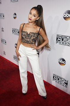 Os melhores looks e tendências do American Music Awars!! #AMAs | Ariana Grande
