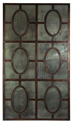 Gemma Antiqued Mirror