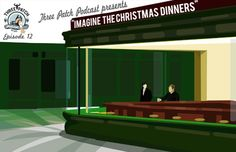 """THREE PATCH PODCAST - Episode 12: Imagine the Christmas Dinners [~0:36] FANON quote: """"One of the things that really surprised me and impressed me - and I don't know if this is true for other fandoms - but the level to which fanon is so wide-spread. We are to the point, you can draw a blond guy with a gun and everyone knows you mean Moran. And he was never in the show!"""""""