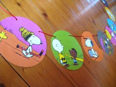 Snoopy Sports Party Decoration. Peanuts Paper by CurlyandNibs, £6.50